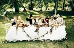 Thanksgiving vogue feast editorial