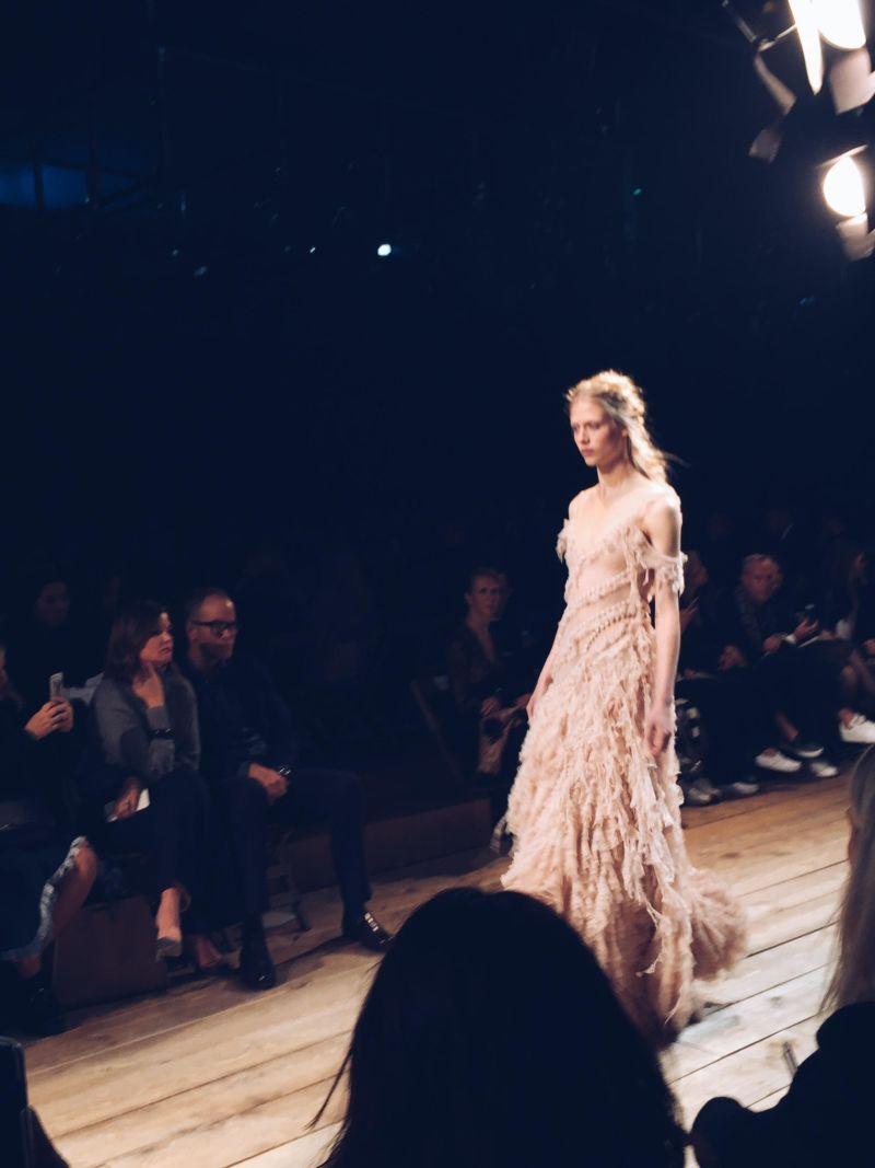 Alexander McQueen Spring 2016 Rooney Mara Gown