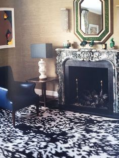 This rug (Pony) by Alexander McQueen for The Rug Company is a perfect hit for a den, library or dressing room. The contemporary geometric play on an pony hair is quite elegant and fresh.This rug (Pony) by Alexander McQueen for The Rug Company is a perfect hit for a den, library or dressing room. The contemporary geometric play on an pony hair is quite elegant and fresh.