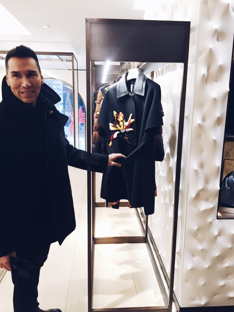 NYC shopping with personal stylist Jesse Garza NYC shopping with personal stylist Jesse Garza Fendi Boutique