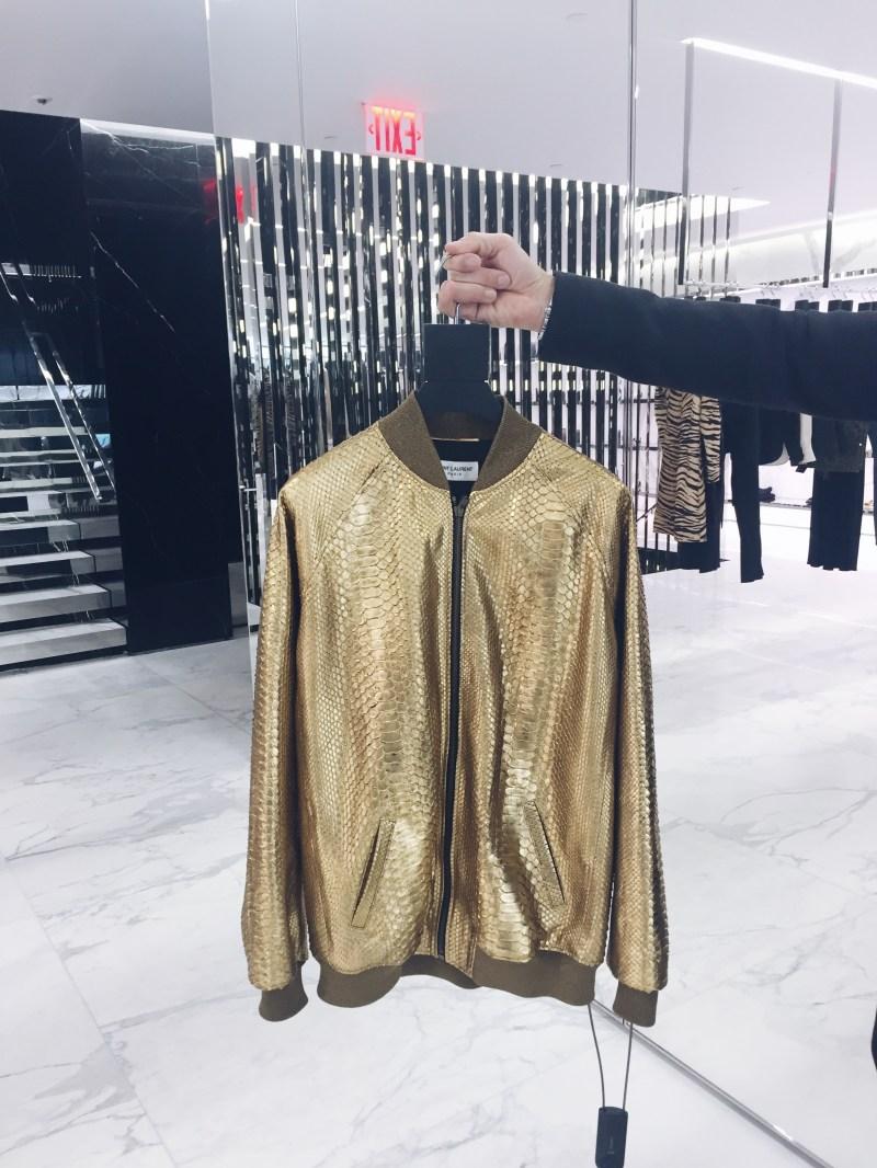 Saint Laurent boutique NYC