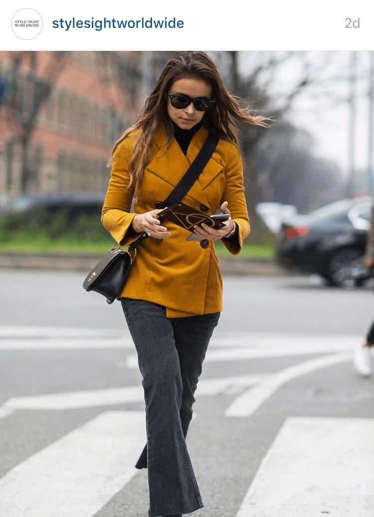 Miroslava Duma Milan Fashion Week