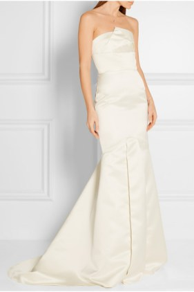 Roland Mouret white gown