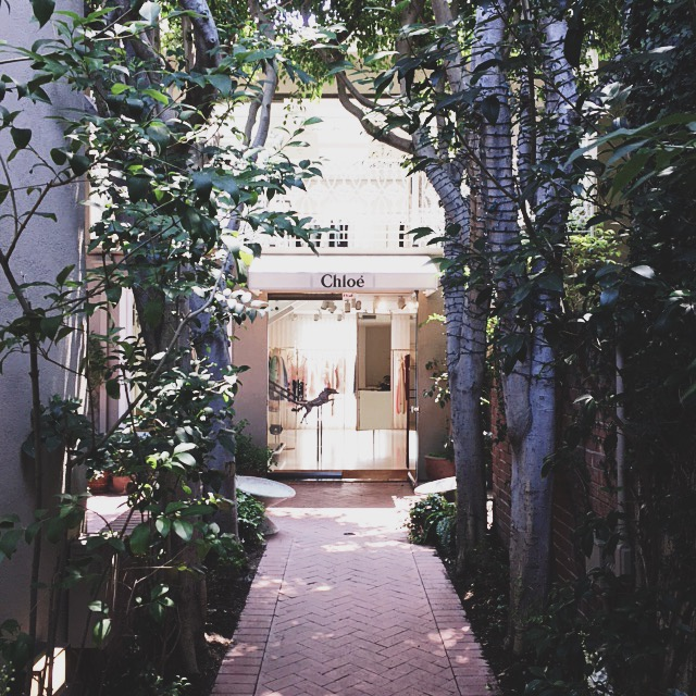 Chloe Boutique Melrose Place