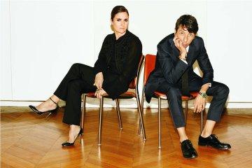 Maria Grazia Chiuri and Pierpaolo Piccioli