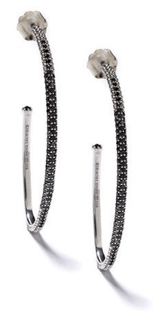 Anna Sheffield Diamond Hoops