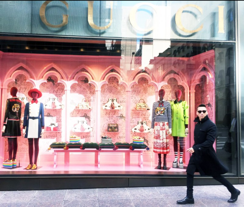 Jesse Garza Gucci Boutique