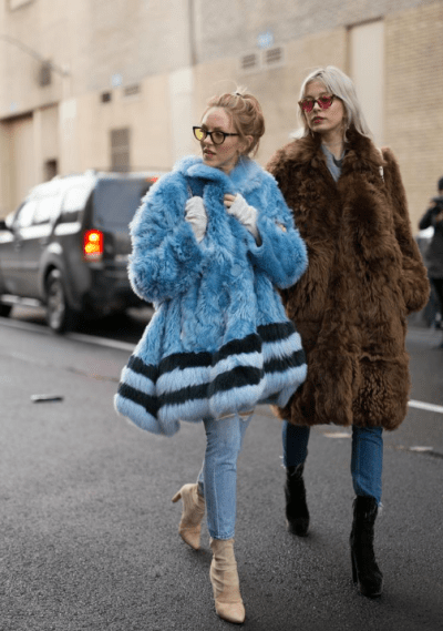 Favorite street style duos of NYFW | Visual Therapy