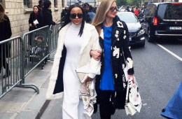 Kellye henton and lisa marie mccomb attend dior