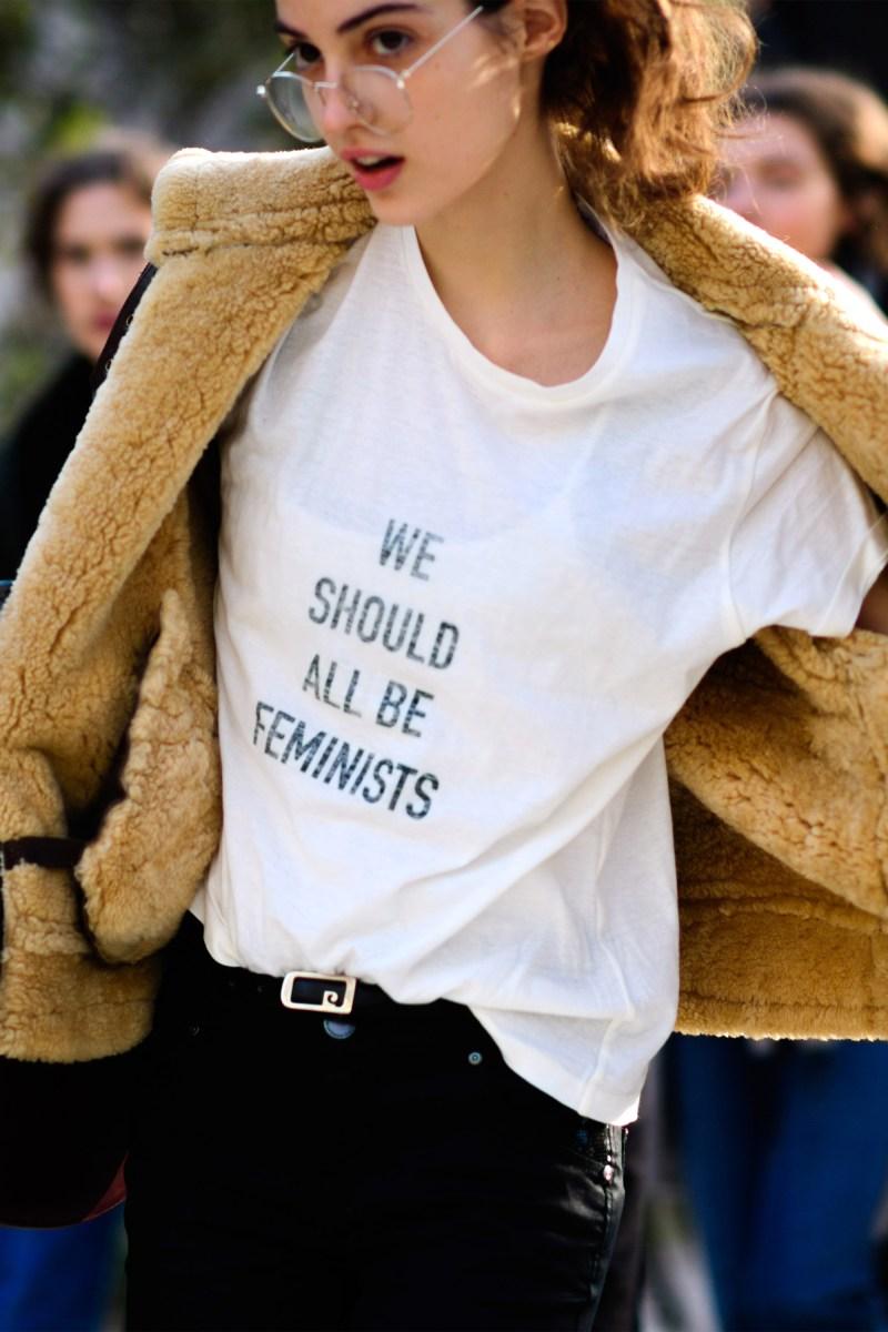 feminist t shirt style