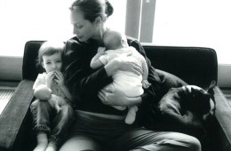christy turlington with children