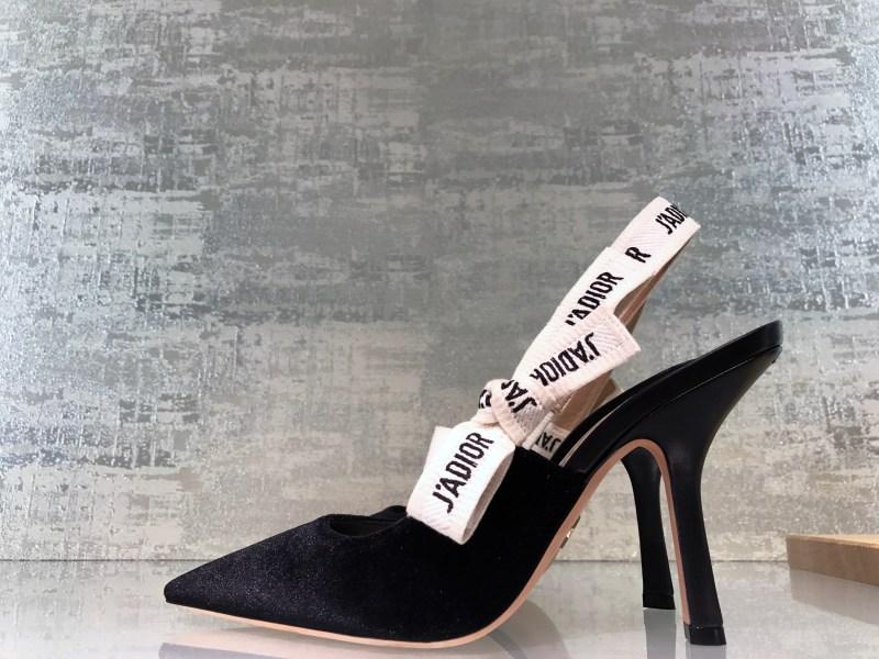 Dior sling back heels fall 2017