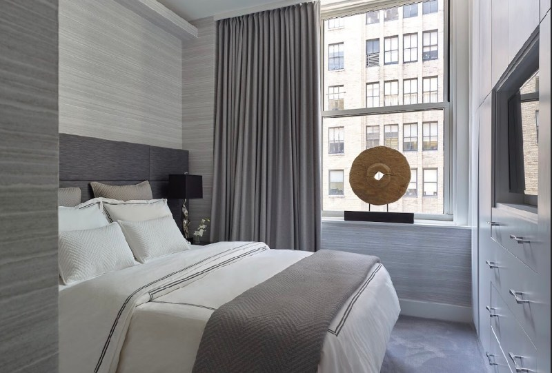 bedroom in nomad nyc by joe lupo