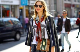 Visual Therapy: 5 Fresh & Clever Ways to Style A Scarf