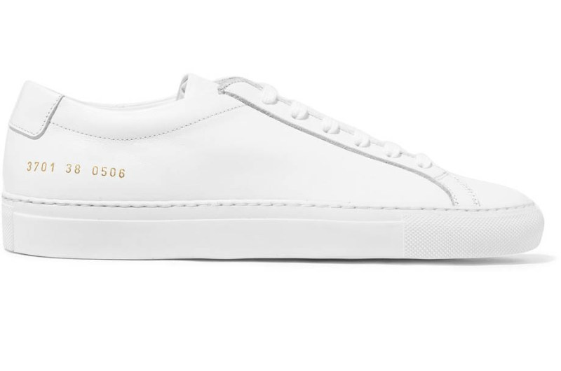 white common project sneaker