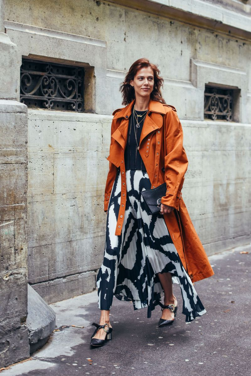 Transitional spring weather street style