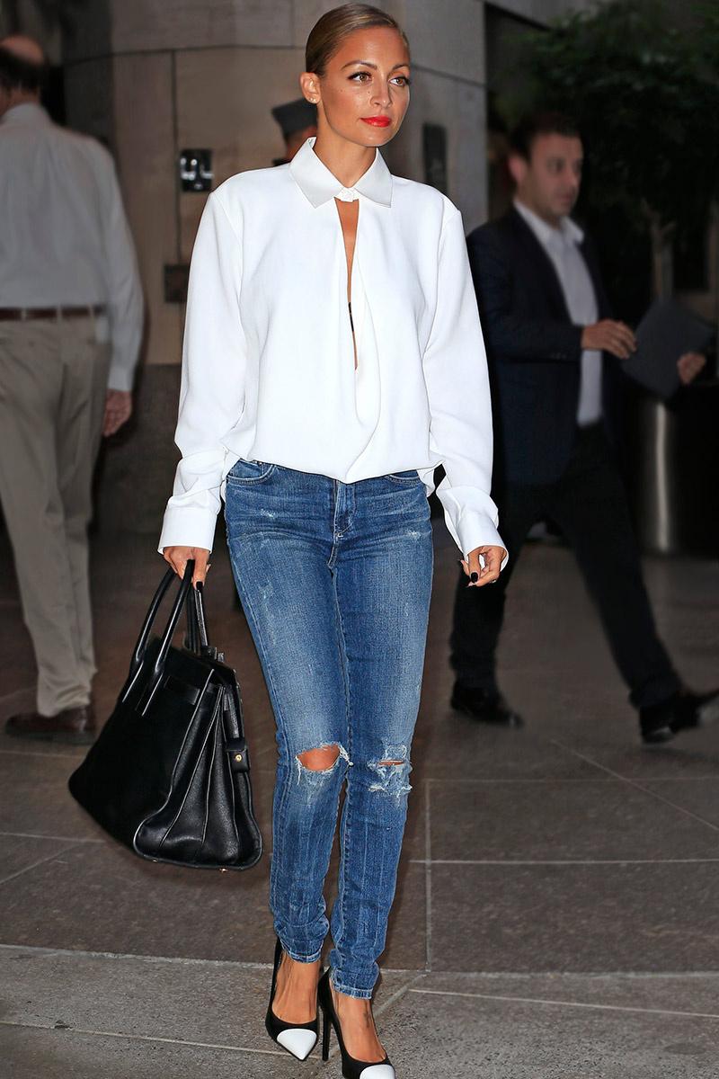 Nicole Richie street style