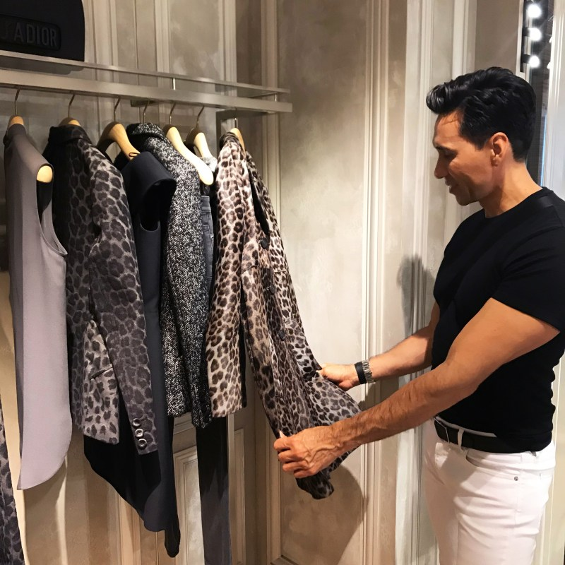 Jesse Garza previews Dior