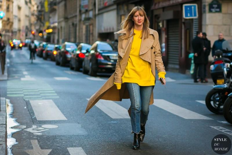 Lisa Aiken street style