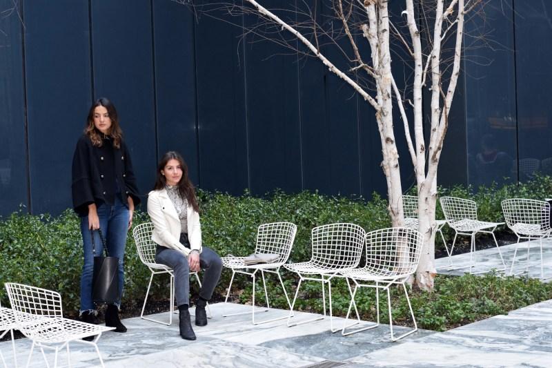 Personal stylists Gabriela Rocha and Nikki Rose