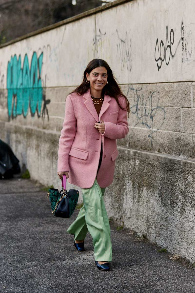 Milan fashion week street style aw 2019