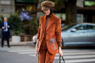 color suiting street style