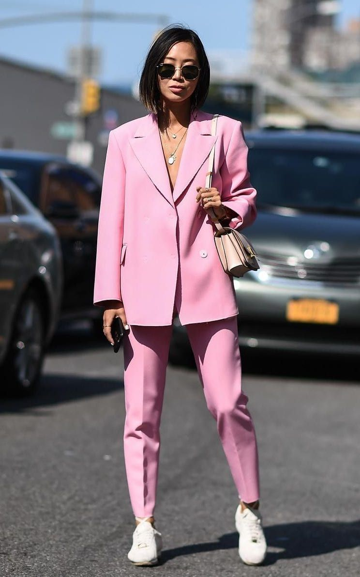 Song of style pink street style