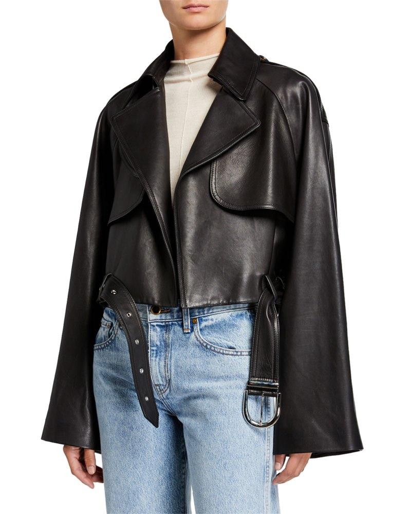 Khaite Leather Jacket
