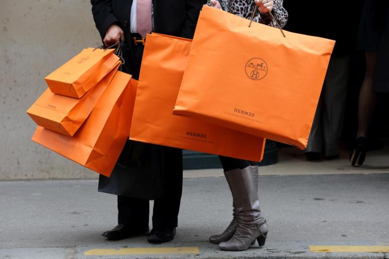 hermes shopping bags