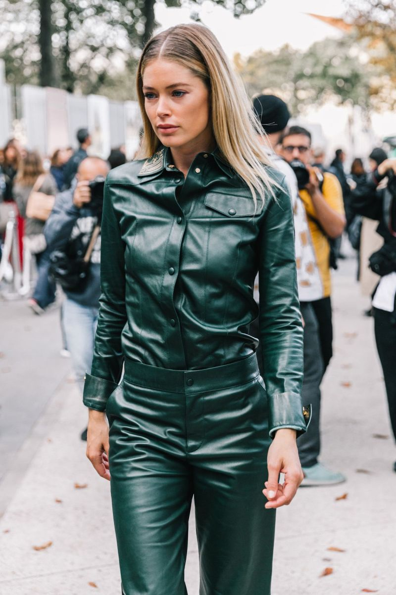 leather street style 2020