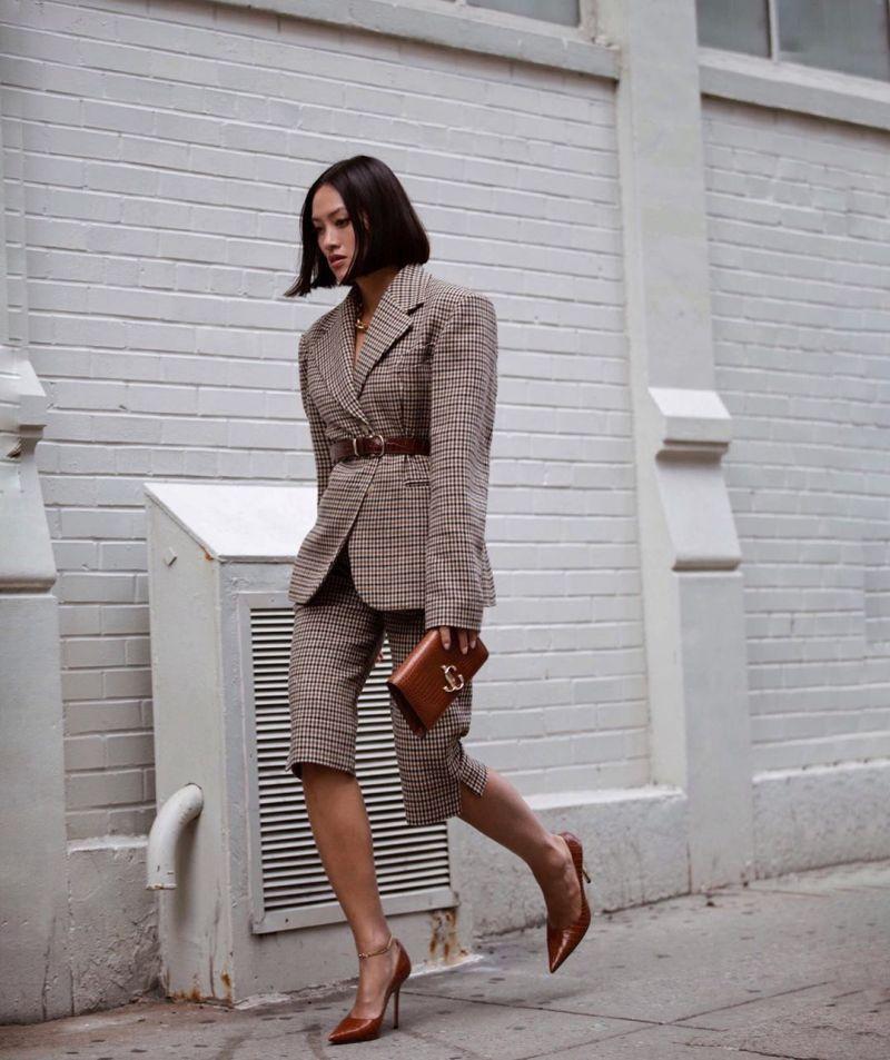 bermuda shorts street style