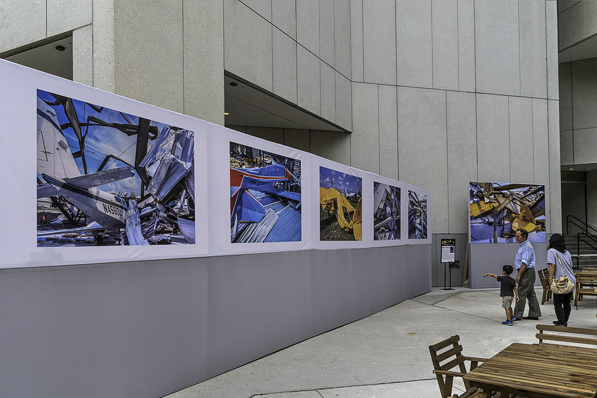 Hurricane Installation at Miami-Dade College Main Campus