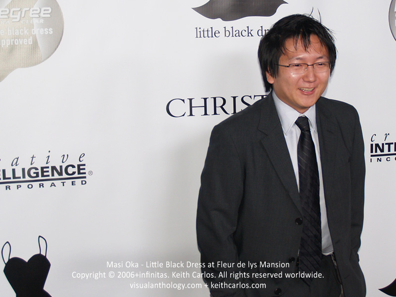 Masi Oka - Little Black Dress at Fleur de lys Mansion - circa 2006 - Copyright © 2006+infinitas. Keith Carlos. All rights reserved worldwide. visualanthology.com + keithcarlos.com