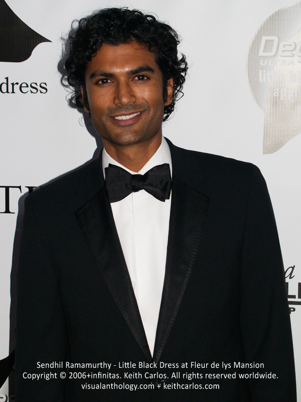 Sendhil Ramamurthy - Little Black Dress at Fleur de lys Mansion - circa 2006 - Copyright © 2006+infinitas. Keith Carlos. All rights reserved worldwide. visualanthology.com + keithcarlos.com