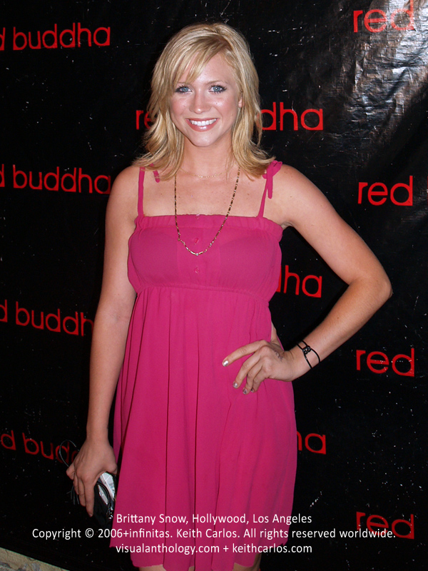 Brittany Snow - Red Buddha 1 Year Anniversary, Hollywood, Los Angeles, California - Copyright © 2006+infinitas. Keith Carlos. All rights reserved worldwide. visualanthology.com + keithcarlos.com