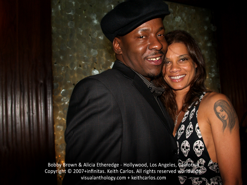 Bobby Brown & Alicia Etheredge - Mood, Hollywood, Los Angeles, California - Copyright © 2007+infinitas. Keith Carlos. All rights reserved worldwide. visualanthology.com + keithcarlos.com