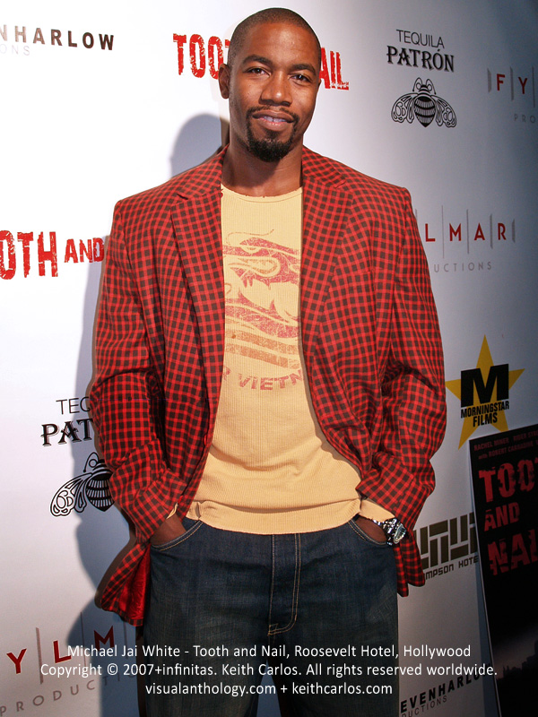 Michael Jai White - Tooth and Nail Movie Premiere Party, Roosevelt Hotel, Hollywood, Los Angeles, California - Copyright © 2007+infinitas. Keith Carlos. All rights reserved worldwide. visualanthology.com + keithcarlos.com