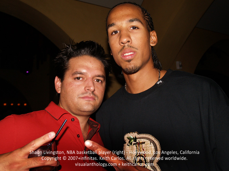 Shaun Livingston, NBA basketball player - Hollywood, Los Angeles, California - Copyright © 2007+infinitas. Keith Carlos. All rights reserved worldwide. visualanthology.com + keithcarlos.com