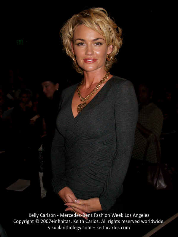 Kelly Carlson - Castle, Melrose Place, Nip/Tuck, Monk, Mercedes-Benz Fashion Week 2007 October, Los Angeles, California - Copyright © 2007+infinitas. Keith Carlos. All rights reserved worldwide. visualanthology.com + keithcarlos.com