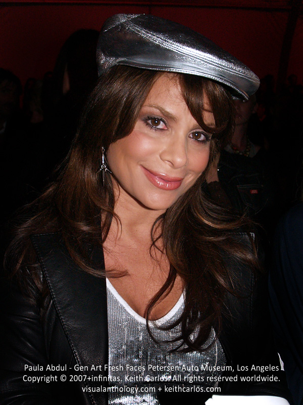 Paula Abdul - Singer, Dancer, American Idol Judge, Gen Art Fresh Faces at the Petersen Automotive Museum, Los Angeles, California - Copyright © 2007+infinitas. Keith Carlos. All rights reserved worldwide. visualanthology.com + keithcarlos.com