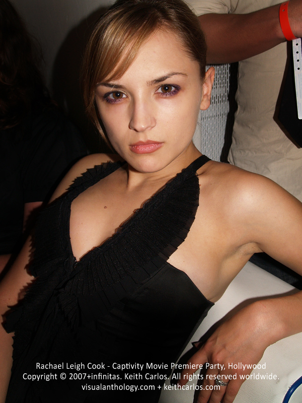 Rachael Leigh Cook - Captivity Movie Premiere Party, Hollywood, Los Angeles, California - Copyright © 2007+infinitas. Keith Carlos. All rights reserved worldwide. visualanthology.com + keithcarlos.com