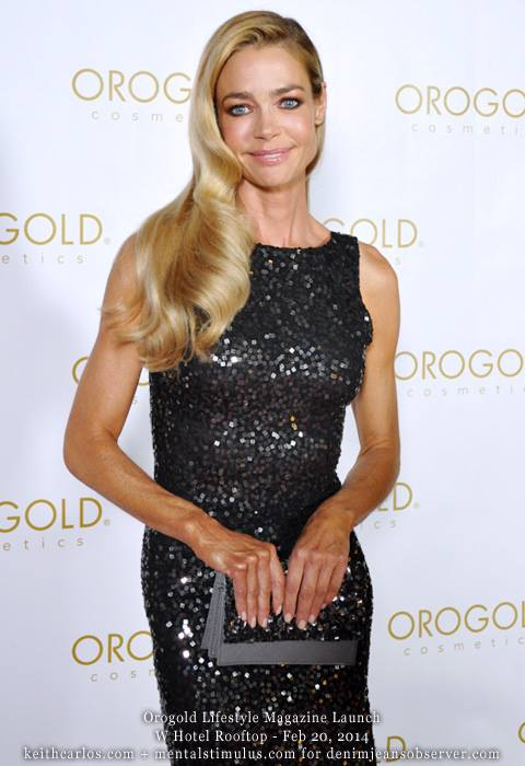 Denise Richards - Orogold Lifestyle Magazine Launch, W Hotel, Hollywood, Los Angeles, California - Copyright © 2014+infinitas. Keith Carlos. All rights reserved worldwide. visualanthology.com + keithcarlos.com