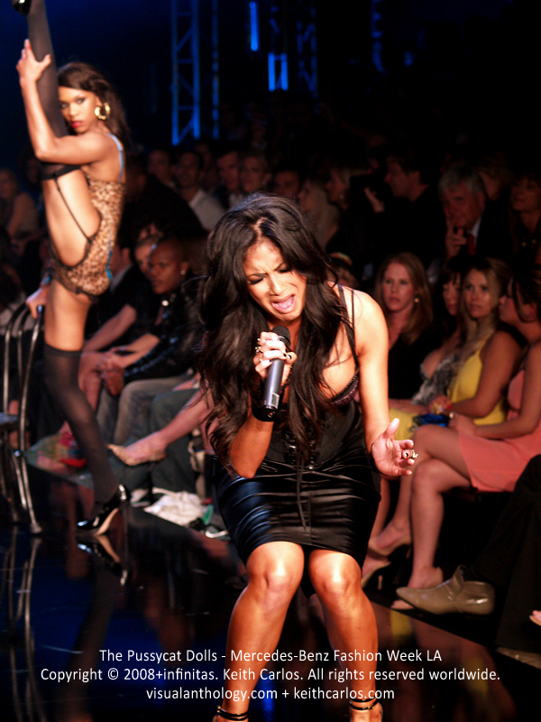 The Pussycat Dolls by Robin Antin - Performance at Mercedes-Benz Fashion Week 2008 March, Los Angeles, California - Copyright © 2007+infinitas. Keith Carlos. All rights reserved worldwide. visualanthology.com + keithcarlos.com