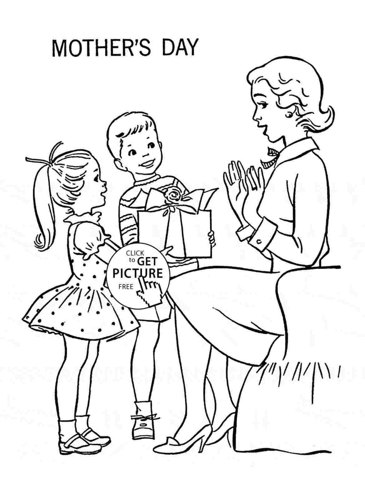 Mothers Day Drawings Ideas Visual Arts Ideas
