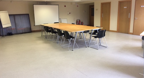 Large private meeting room, 11m x 9m at VAI offices