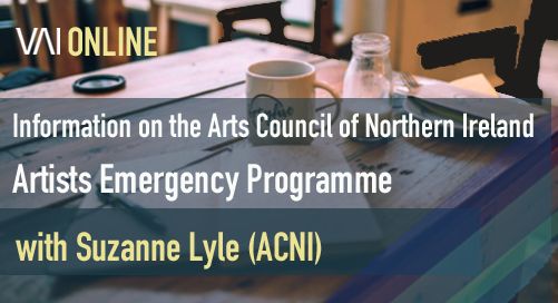 Webinar | ACNI - Information on the Artists Emergency Programme