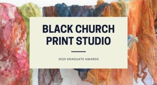 Open Call | Black Church Print Studio Graduate Awards 2020