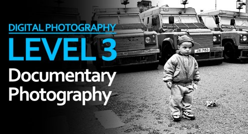 Level 3: Documentary Photography Workshop at Belfast Exposed