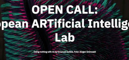 Open Call | European ARTificial Intelligence Lab. Astronomy x AI – Artist Residency