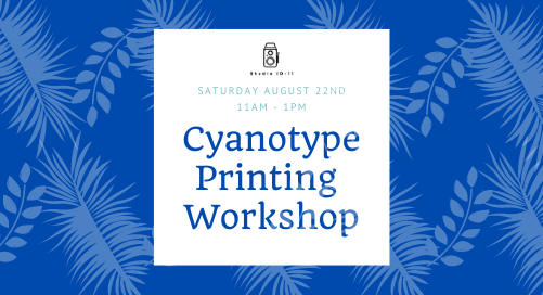 Cyanotype Workshop at Marlay Park